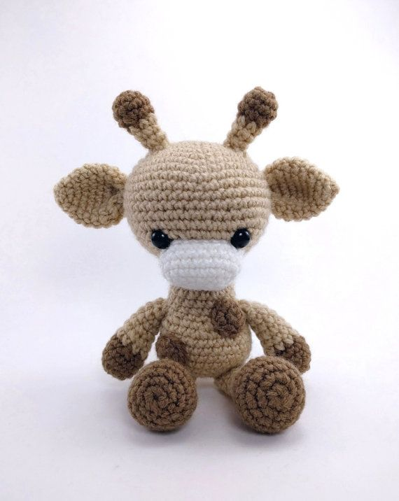 PATTERN: Crochet giraffe pattern amigurumi by TheresasCrochetShop ...