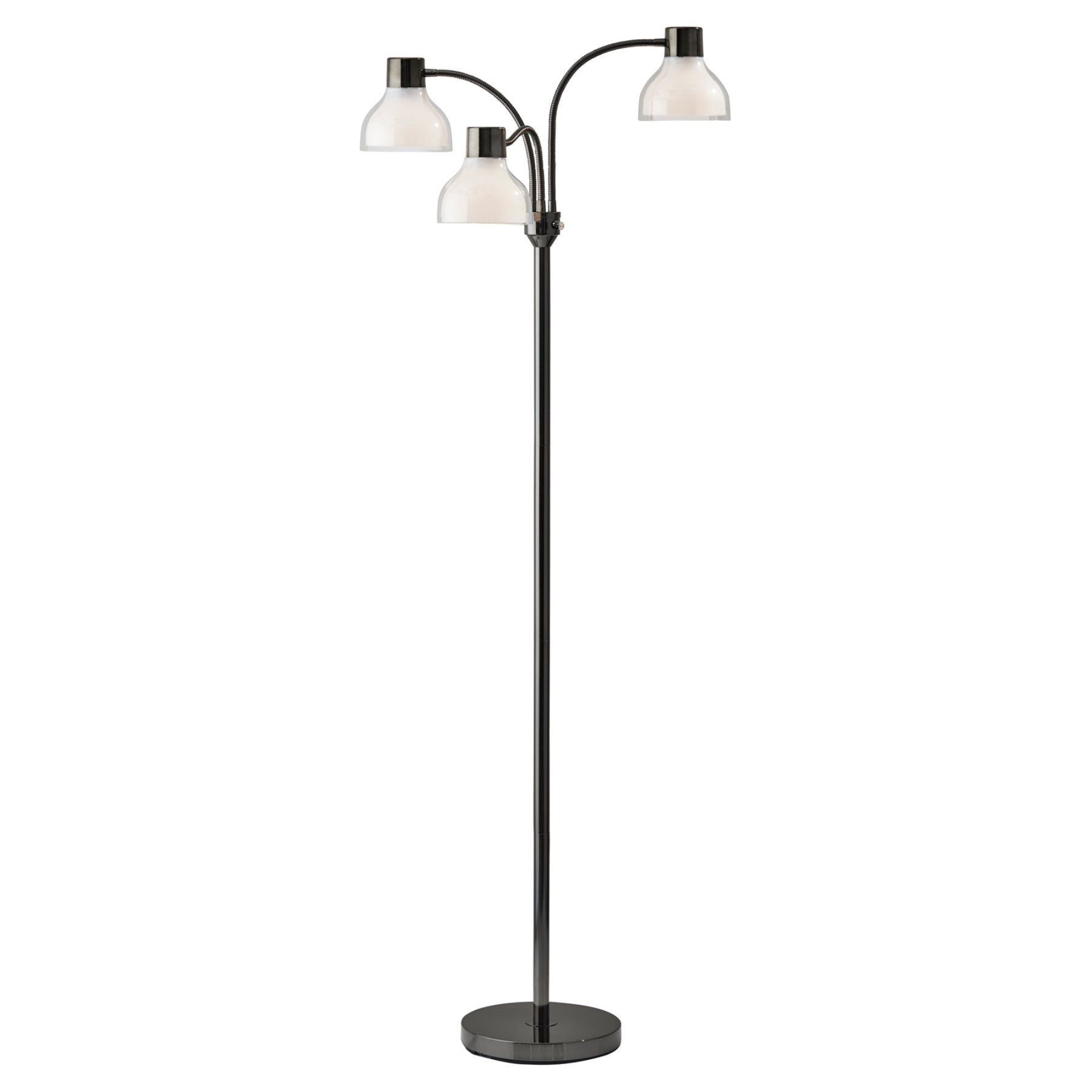 Adesso Presley 3 Arm Floor Lamp 3566 01 Products In
