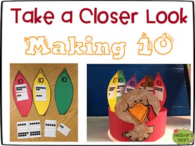 Gobble Up Some Freebies Making 10 Fun Thanksgiving Math Making