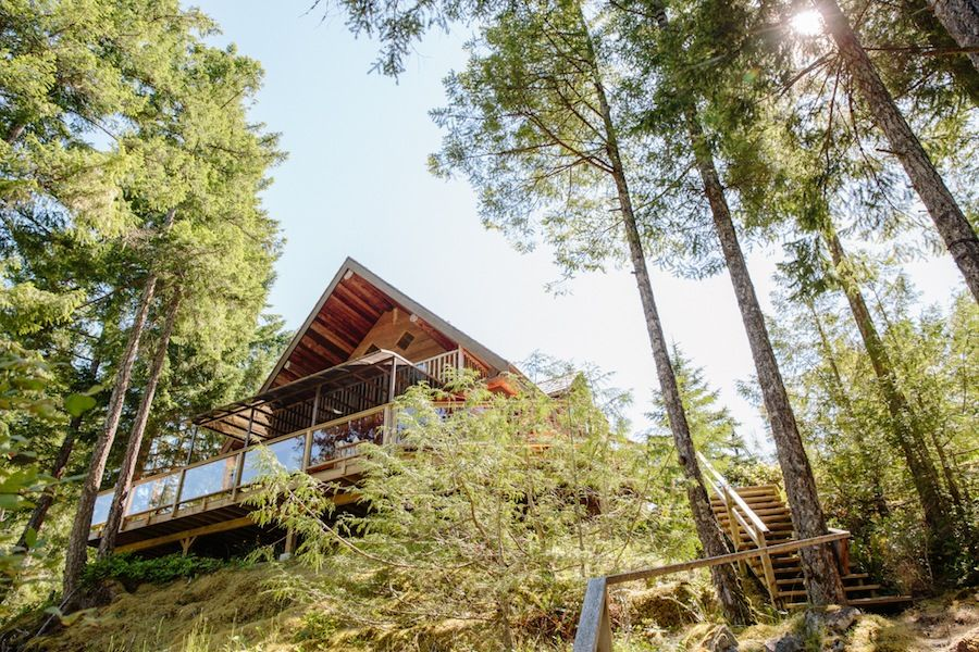 Vacation Rentals and Retreats in Secret Cove, Halfmoonbay, Sunshine Coast, British Columbia