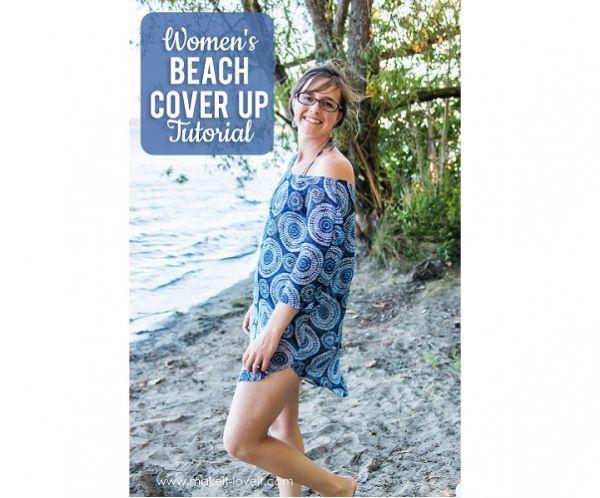 Free pattern: Women's beach coverup   Sewing   CraftGossip   Bloglovin'