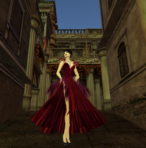 Delessian wearing Augusta's 'Dea' - in Venexia  by   JustynLie