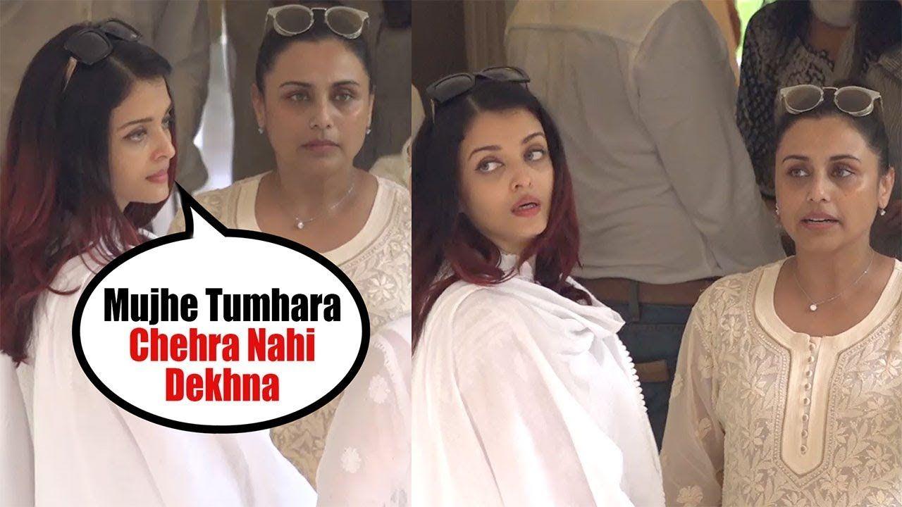Aishwarya Rai Badly Ignores Rani Mukerji Over Abhishek Bachchan Marriage Latest Bollywood Gossip Rani Mukerji Bollywood News