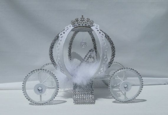 Check out this item in my Etsy shop https://www.etsy.com/listing/474608749/cinderella-carriage-cake-topper