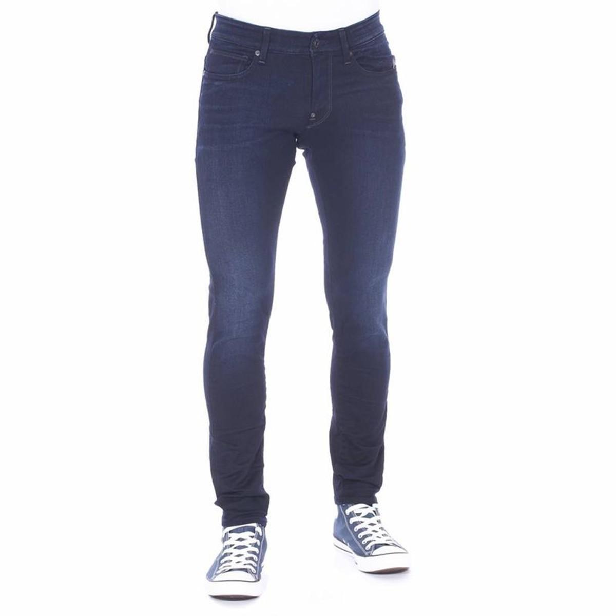 Jeans G Star Revend Super Slim Bleu Fonce Delave Homme Taille 29 32 30 31 28 33 27 36 38 36 34 Jeans G Star
