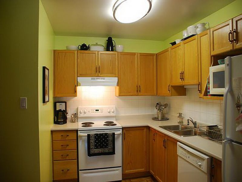 Green Kitchen Paint Ideas Part - 16: Lime Green Country Kitchen Paint Colors Lighting
