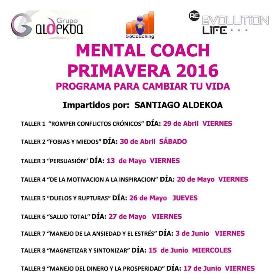 Mental Coach con Santiago Aldekoa