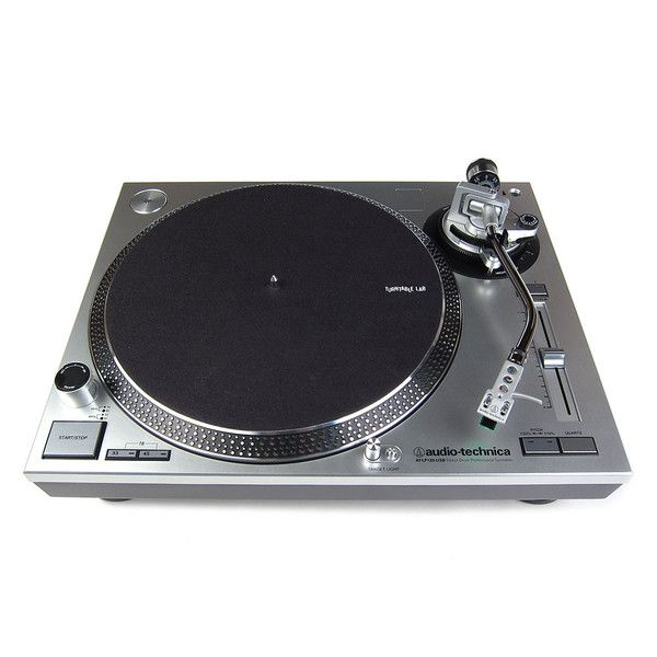 Audio Technica At Lp120xusb Sv Direct Drive Turntable Silver Audio Technica Usb Turntable Audio Equipment