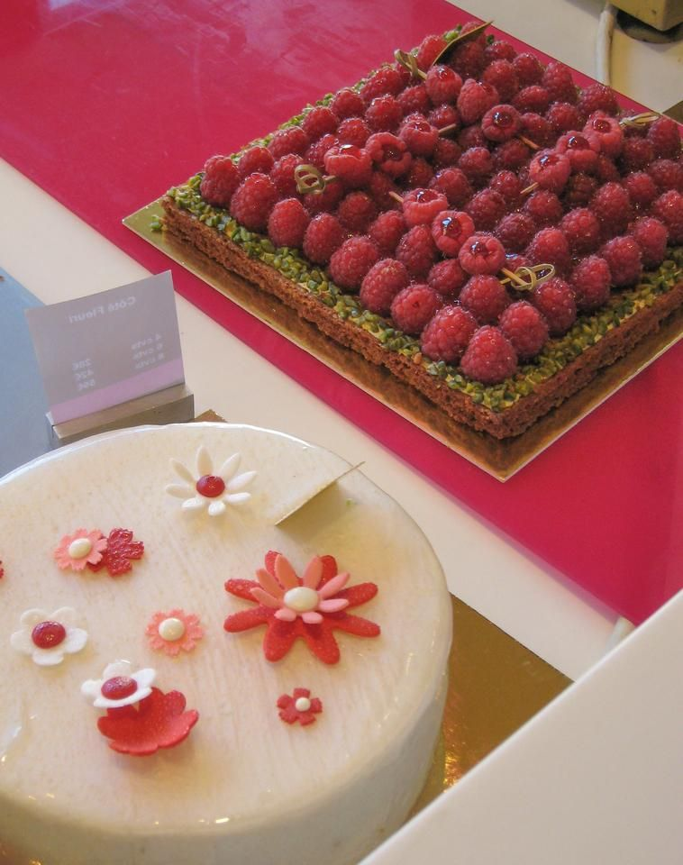 Why Paris: Fancy cakes! by Carolyn Chase