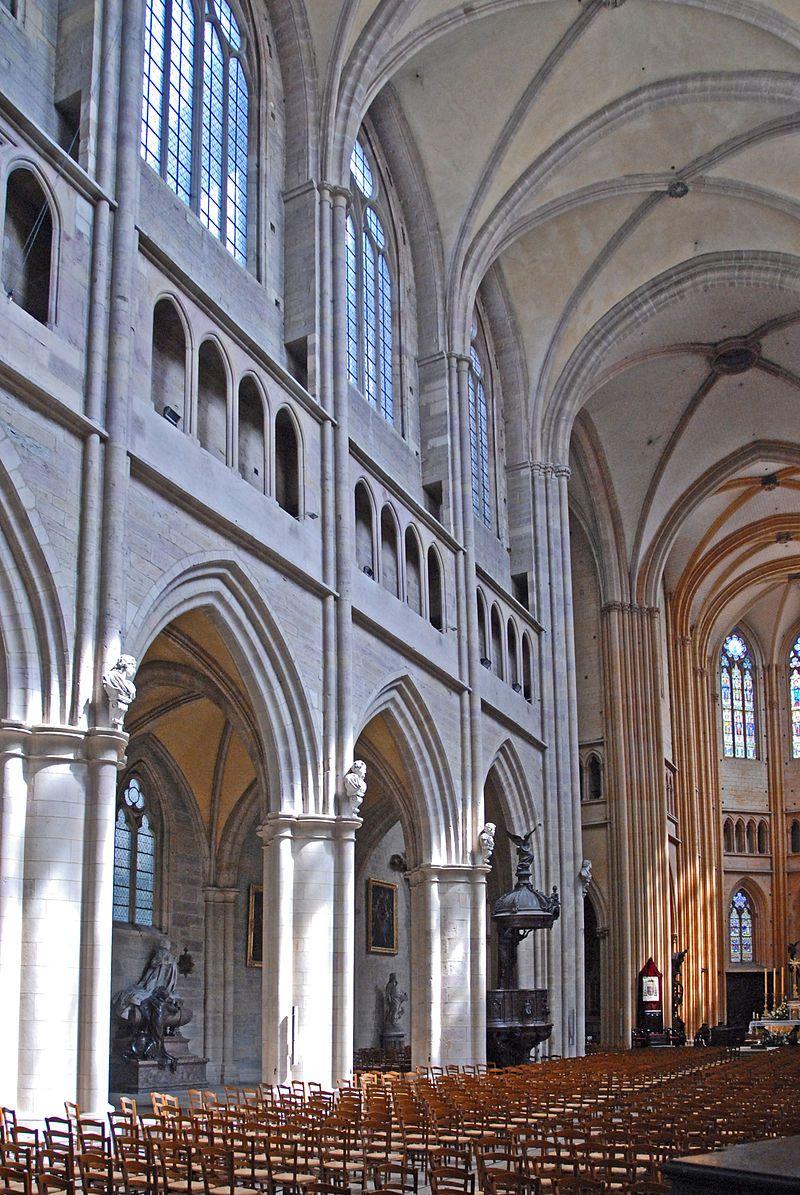 F09.St-Bénigne.Dijion.0089 - Kathedrale von Dijon – Wikipedia — Foto Jochen Jahnke
