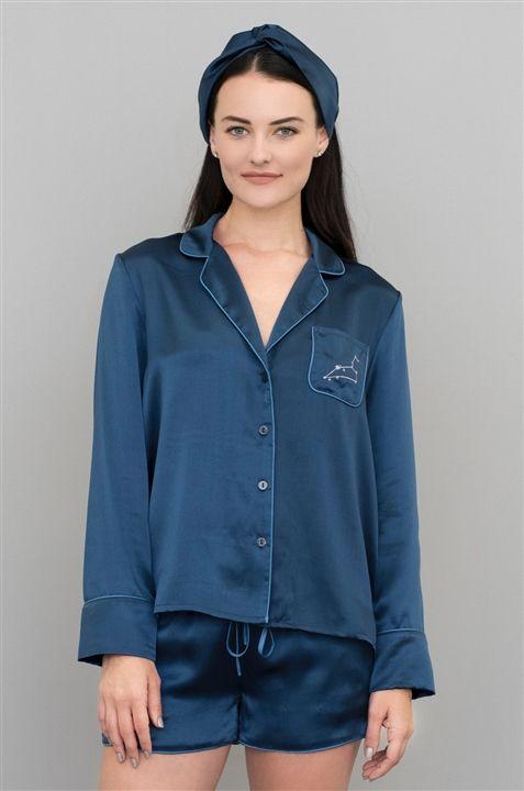 Luxurious silk pajamas look  SO comfortable!