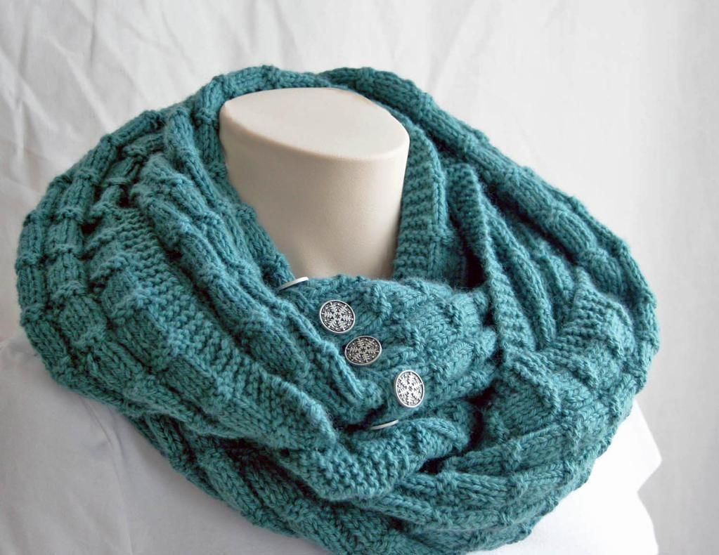 7 FREE Infinity Scarf Patterns, available on Craftsy! | Knitting ...