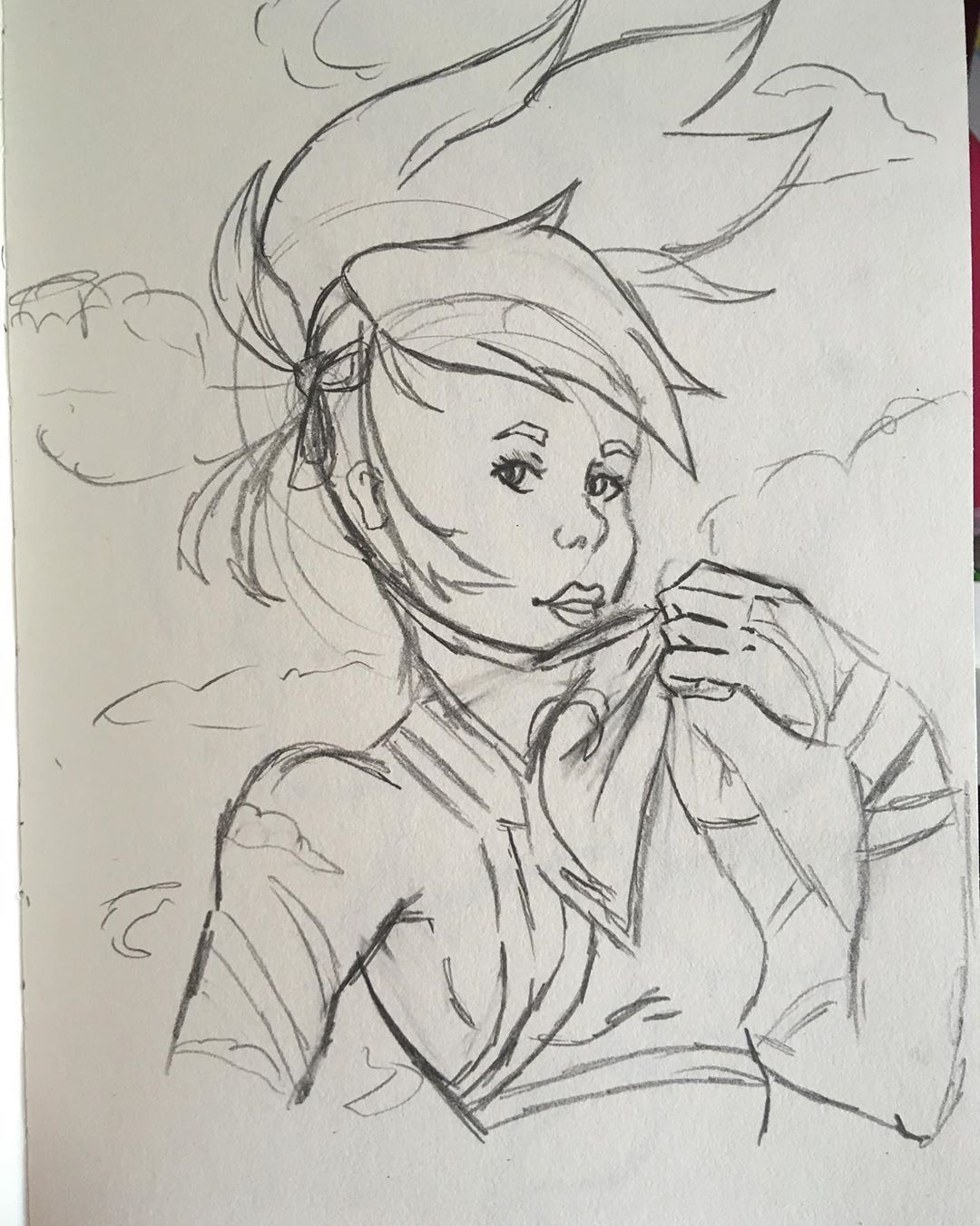 Akali sketch, anyone else play league? #art #colour #drawing #painting #cute #water #blue #chibi #Gaming  #doodles #fantasyart #portrait #portraitartist #leagueoflegends&