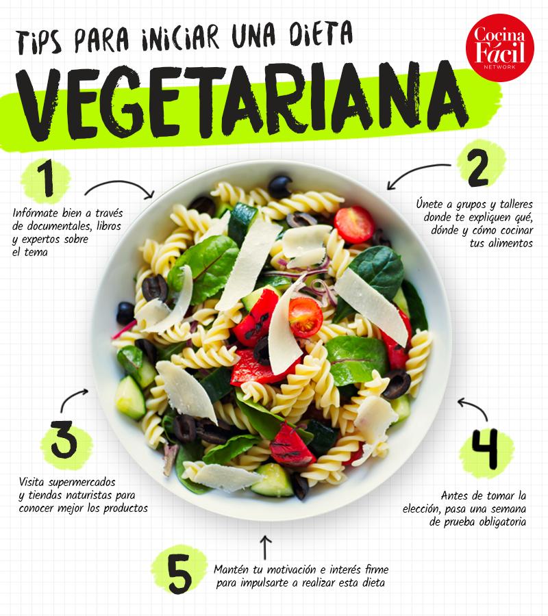comida para dieta vegetariana
