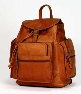 Clava Large Himalayan Leather Backpack http://leatherbagsformen ...