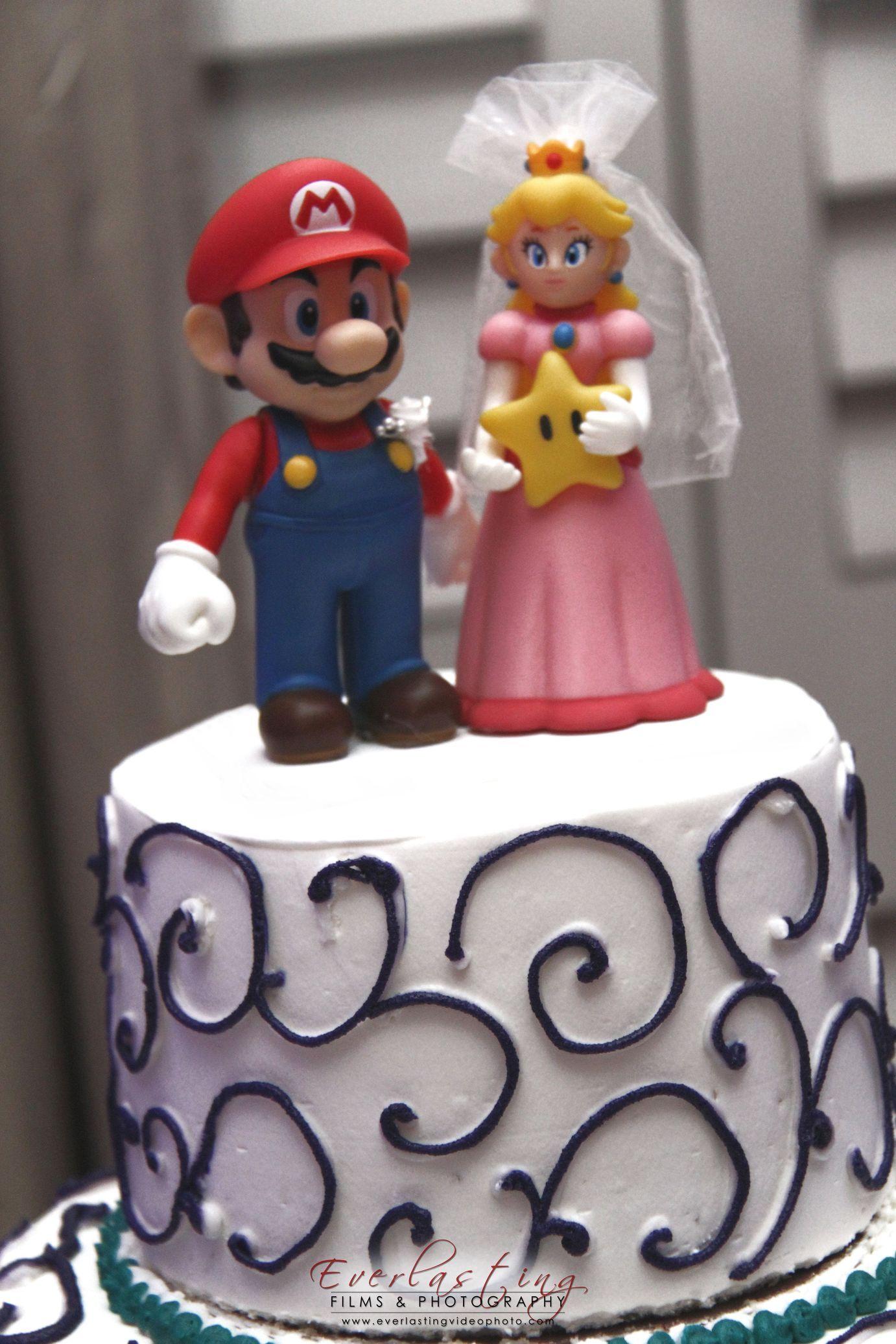 DIY Super Mario & Princess Peach cake topper | Mario Stuff ...