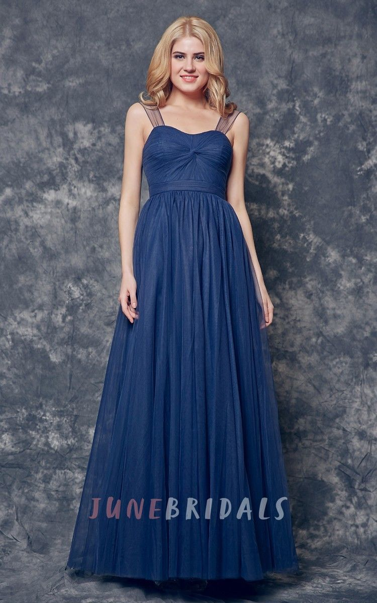 Aline ruched long satin dress with illusion sleeve long satin