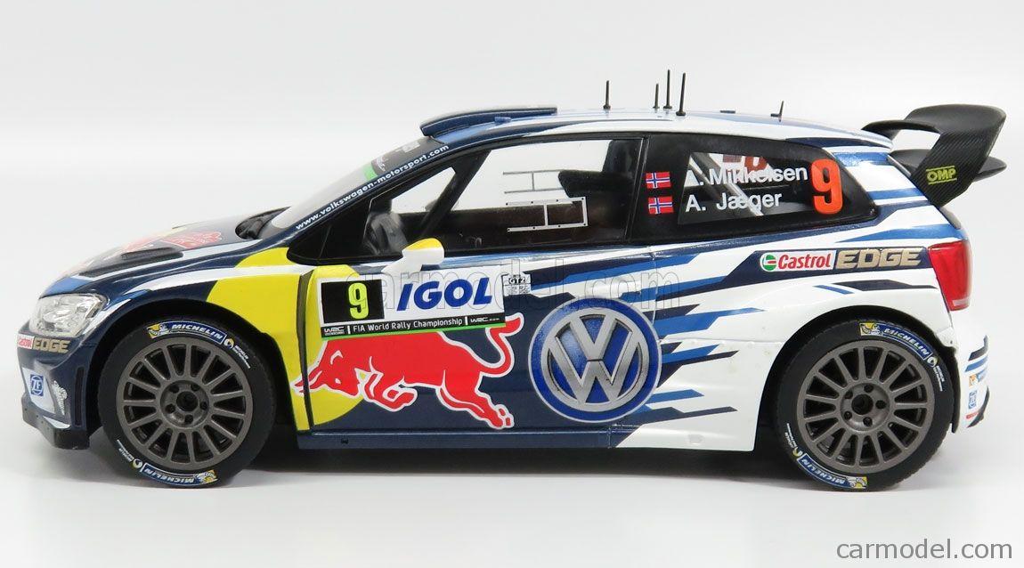 Volkswagen Polo R Wrc Team Volkswagen Motorsport Red Bull N 9