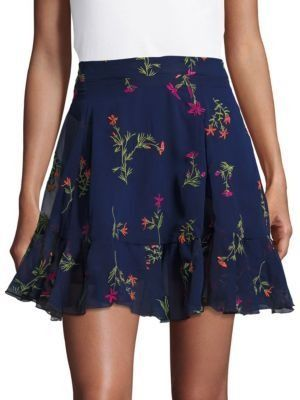fbcf66b9b Wear this floral mini skirt with ankle boots or sandals!   Most ...