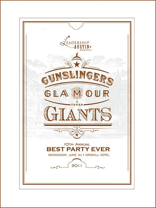 Texas Western Theme Party Invitation – Best Party Invite