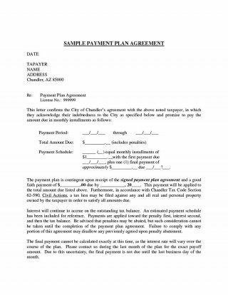 Download Payment Agreement Template   Contract