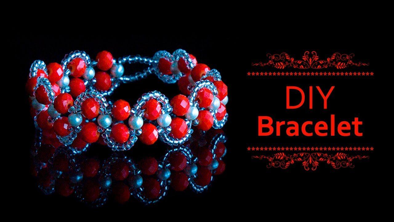 How to make beautiful bracelet | DIY bracelet | beaded bracelet | jewelr...