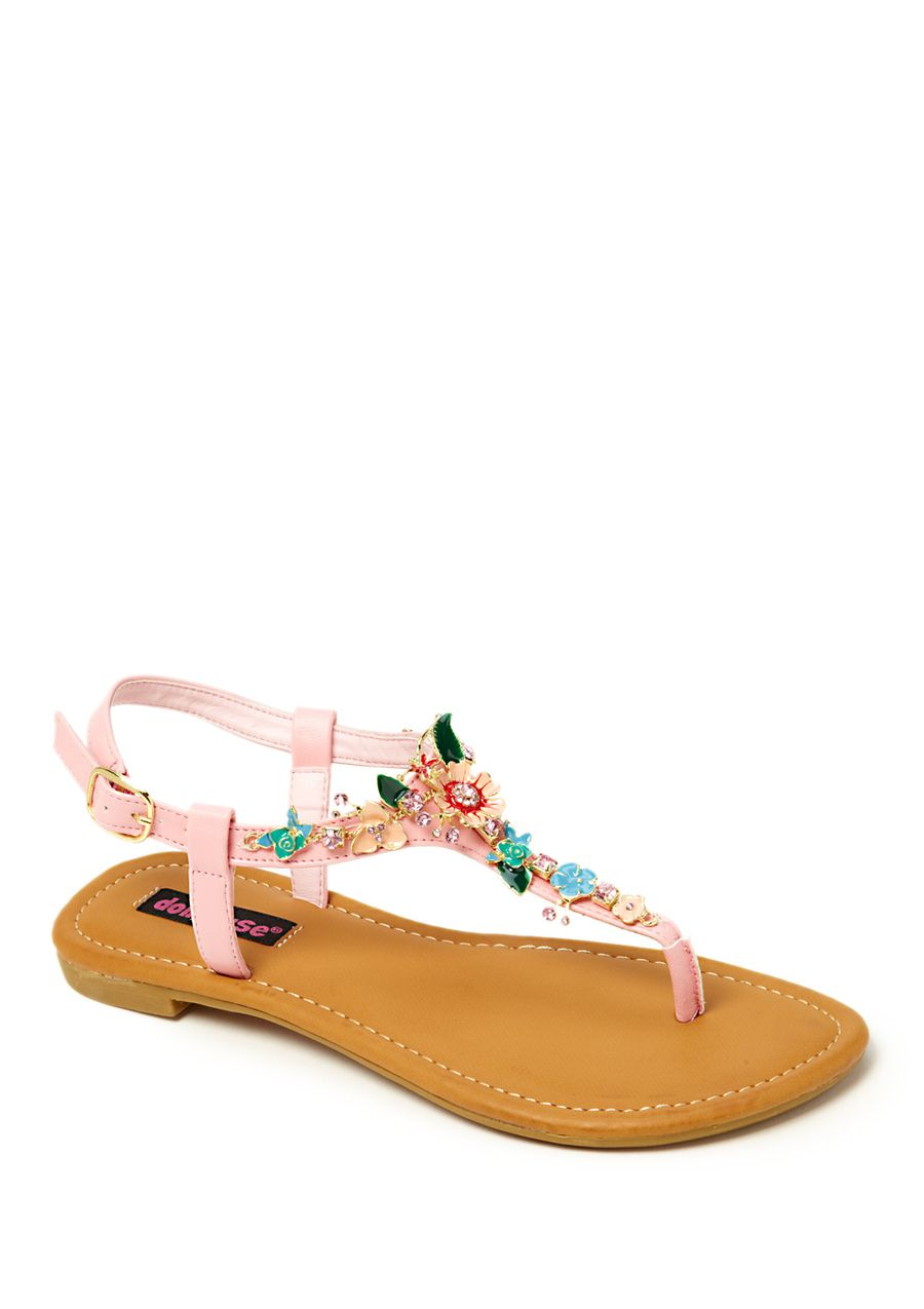 Dollhouse, Inger  Love a cute sandal....the flowers give it an extra feminine touch...