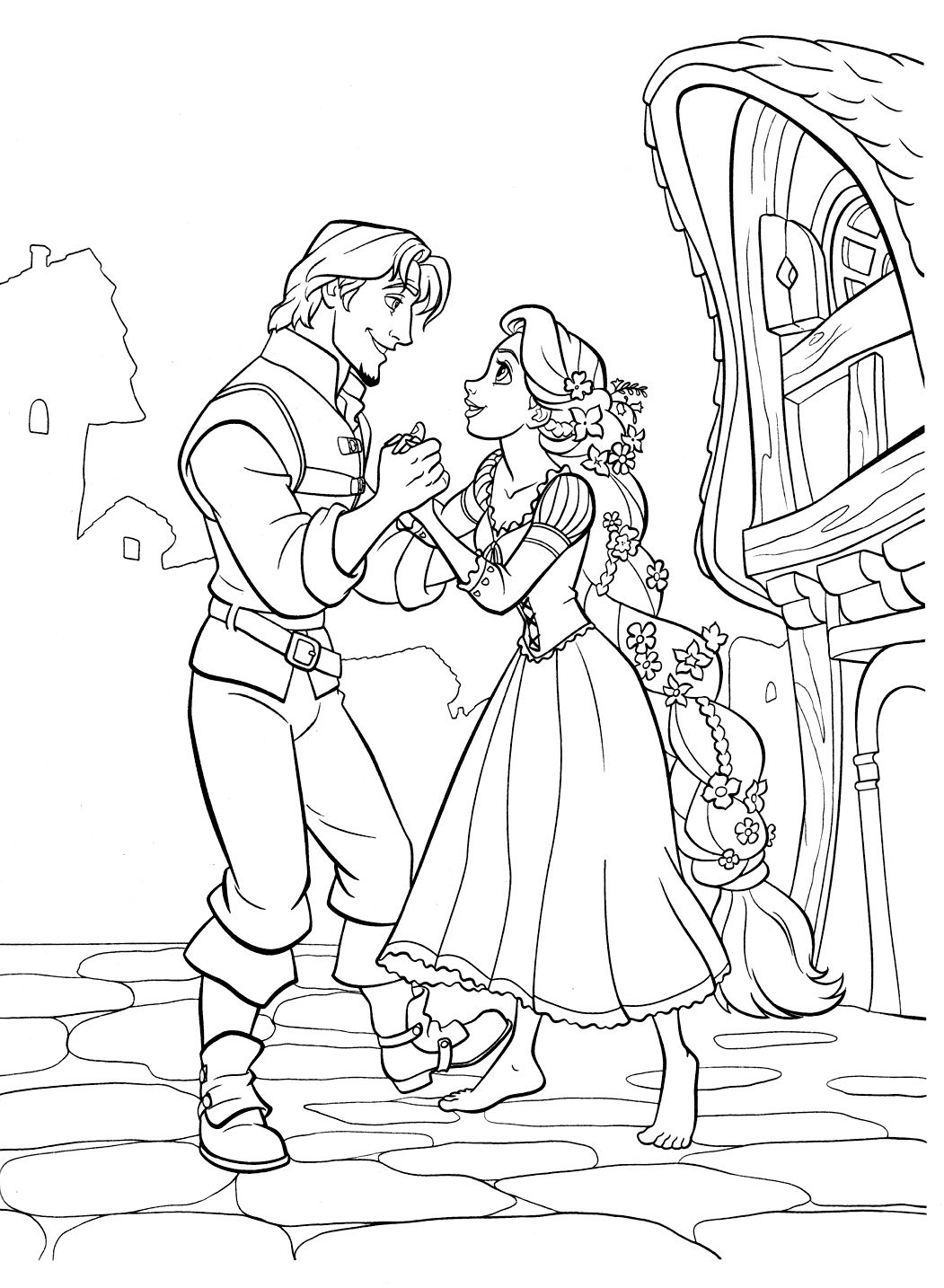 Tangled | Coloring books & Pages | Pinterest