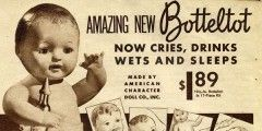 Vintage Bottletot Baby Doll 1937