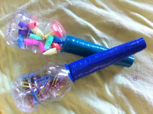 An Easy Musical Craft For Young Children – Back To School Maracas! « Tiny Tapping Toes #recycledcrafts