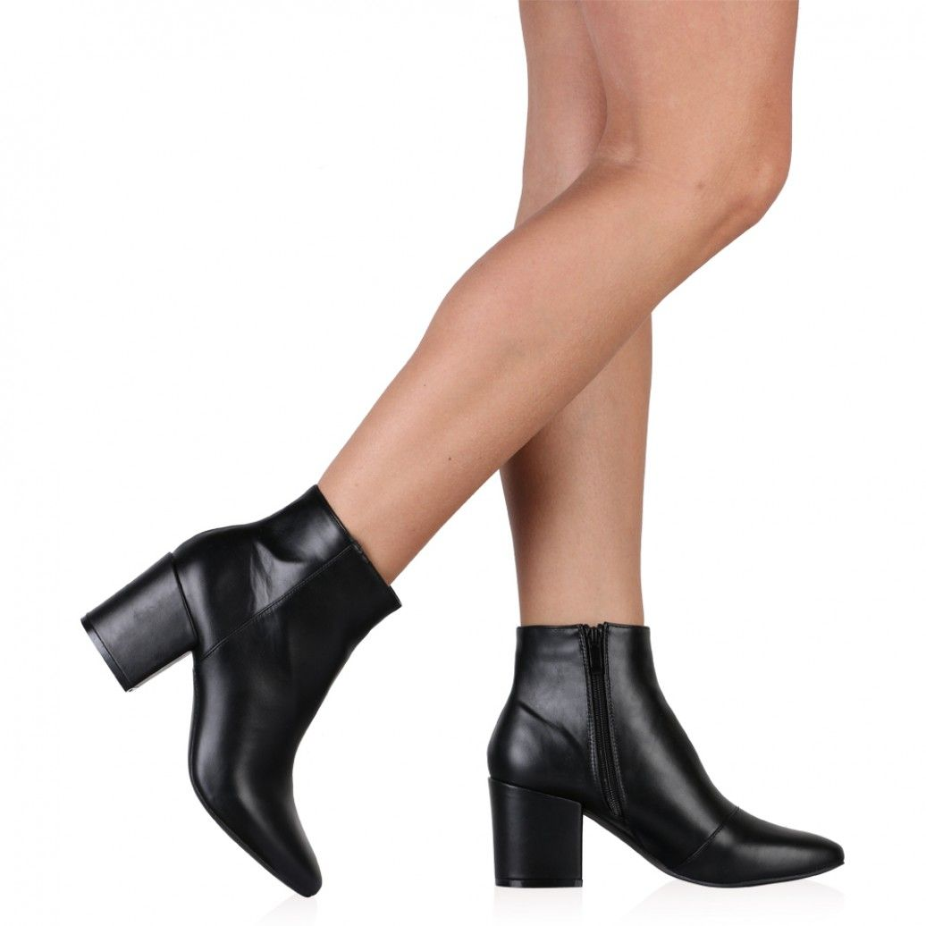 9064845e0a1 Malika Ankle Boots In Black