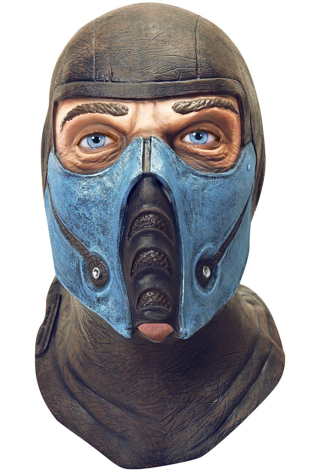 realistic sub-zero mask | Mortal Combat Theme | Pinterest ...