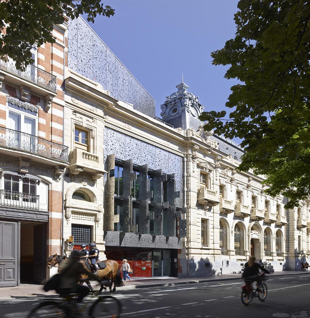 taillandier architectes associ s l 39 agence caisse d pargne rue du languedoc toulouse archi. Black Bedroom Furniture Sets. Home Design Ideas