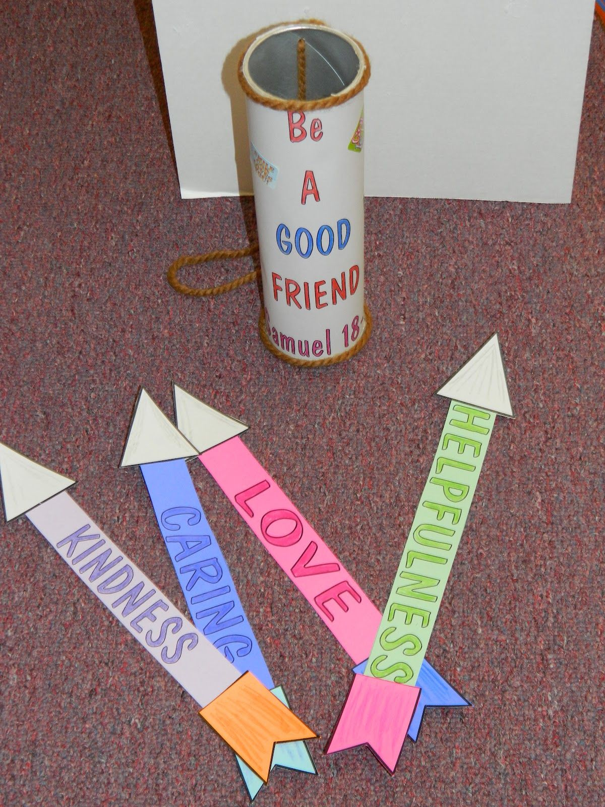 Craft Idea Jonathan David Be A Good Friend Quiver With