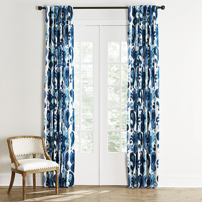 Bethesda Drapery Panel In 2020 Paisley Curtains Panel Curtains