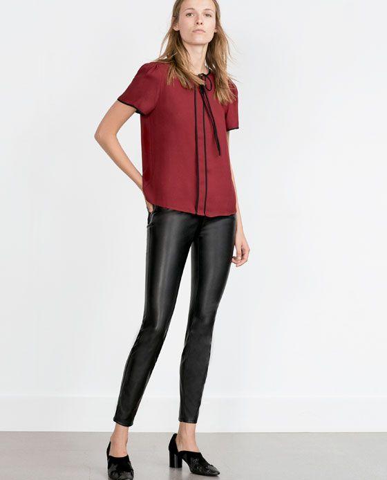 Pin De Jen En My Wishlist Zara Mujer Pantalones Diseno De Indumentaria Vaqueros Pitillo