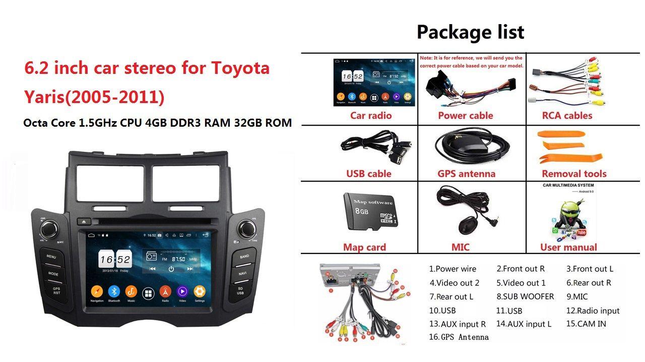 2010 Toyota Yaris Radio Wiring Diagram