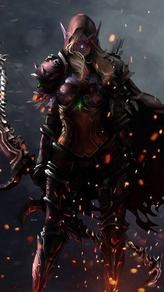 Sylvanas Windrunner Wow Fantasy Girl 4k Hd Mobile Smartphone And Pc Desktop Laptop Wallpaper Sylvanas Windrunner World Of Warcraft Characters Warcraft Art