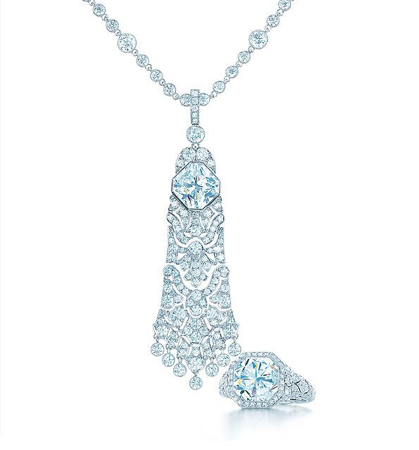Tiffany & Co., and that's all I know. When they do crack*, they don't hold back!  *  crack being drop dead gorgeous statement jewelry.