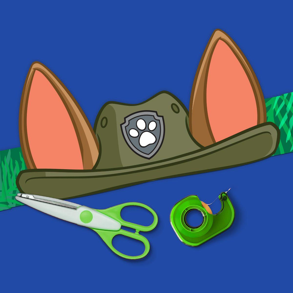 PAW Patrol Tracker Printable Ears