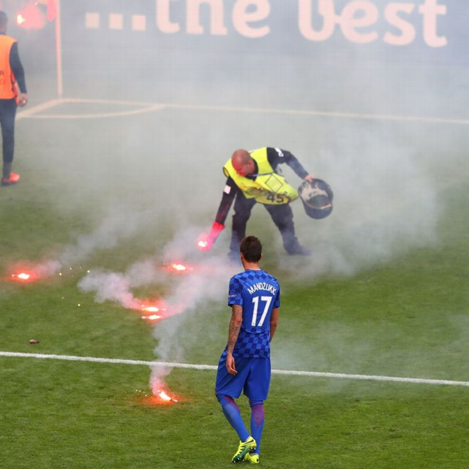 UEFA to blame for Croatia fan disorder says top StEtienne
