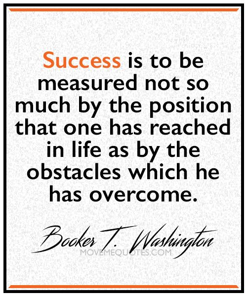 How Success Should Be Measured By Booker T Washington Success