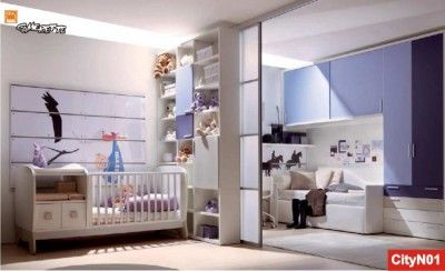 Camerette Scorrevoli ~ Cameretta divisa da ante scorrevoli babies