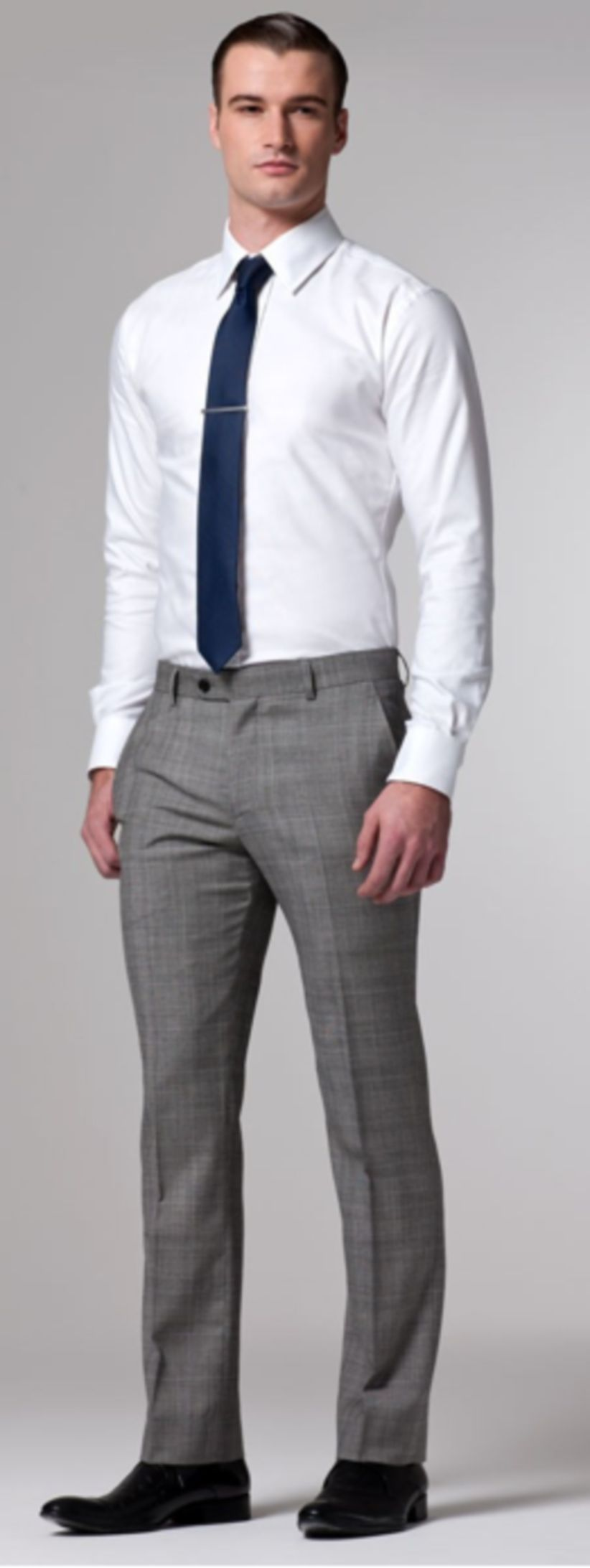 Amazing 36 Perfect Tie And Shirt For Men Business Http Upoutfit Com Index Php 2018 08 15 36 Perfect Ti White Shirt Men Blue Pants Men Black Pants Outfit Mens [ 2185 x 822 Pixel ]
