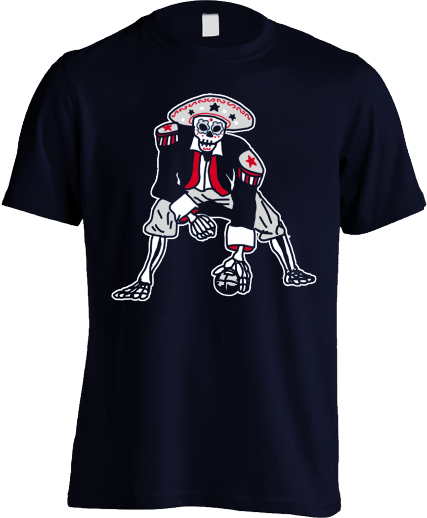 Patriot Football Skeleton  91a2d7a4b