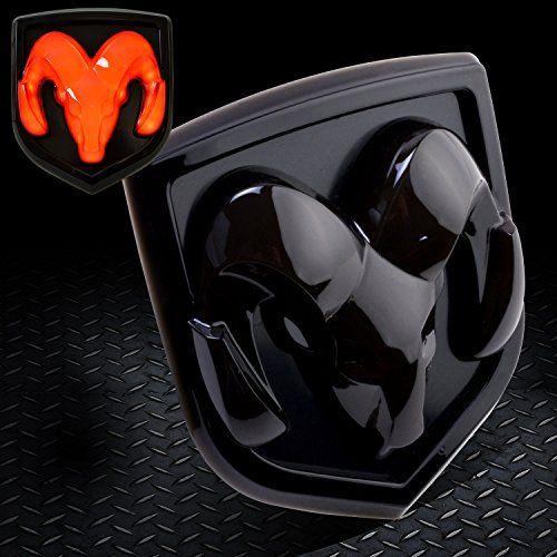 Dodge Ram 2009 2016 1500 2500 3500 Dodge Ram 2010 2016 2500 3500 Tailgate Emblem Licensed Led Light Ram Head Mopar Logo Black 6619 Car Accessories Online Mar Dodge Ram Mopar Dodge Ram 2009