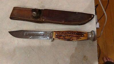 Vintage Case Hunting Knife Antique