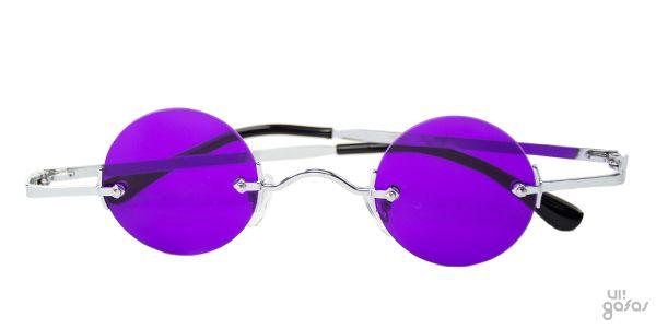 Óculos De Sol Redondo Mini Em Metal Lente Colorida    Ui! Gafas   Dreamer -  UI338 028c7cb5f3