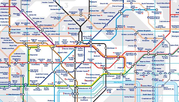 Viajar A Londres Metro De Londres Plano Del Metro Metro Londres Londres Turismo Londres Mapa