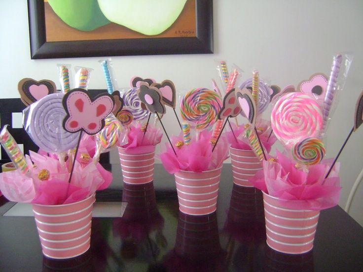 Centro de mesa nenas Pinterest Centros de mesa, Centro y Mesas